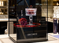 DECORTE Digital Tester & AQ meliority's cream Baccarat Edition Display