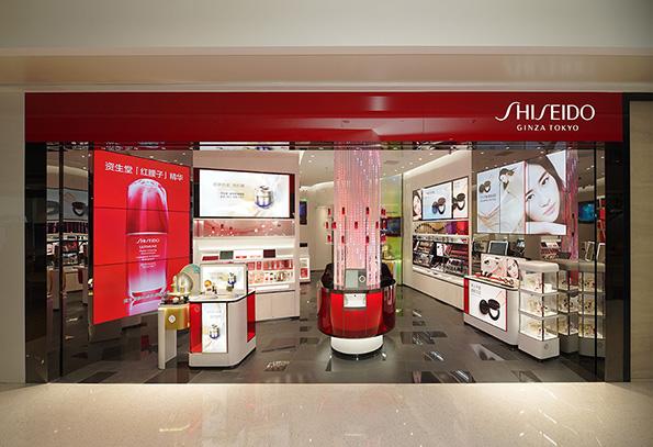 SHISEIDO Retail Store Shengzheng mixc shopping center